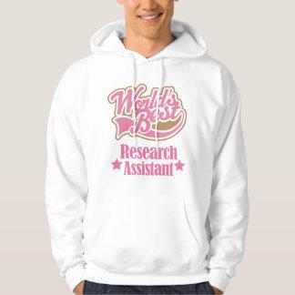 Regalo del asistente de investigación (mundos sudadera con capucha