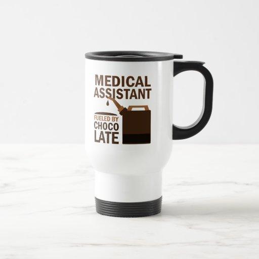 Regalo del auxiliar médico (divertido) taza de viaje