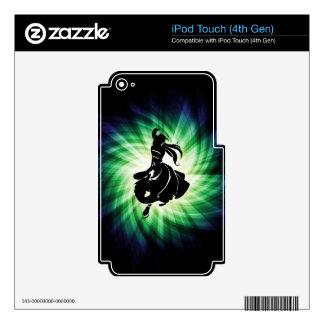 Regalo del bailarín de la salsa iPod touch 4G skins