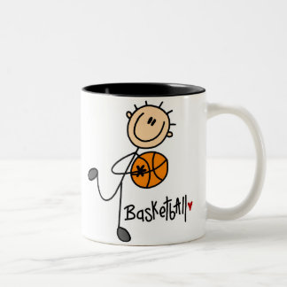 Regalo del baloncesto tazas de café