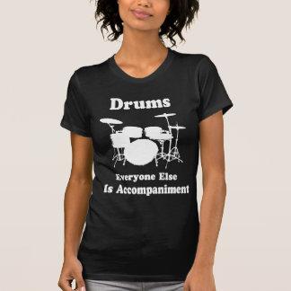 Regalo del batería camiseta