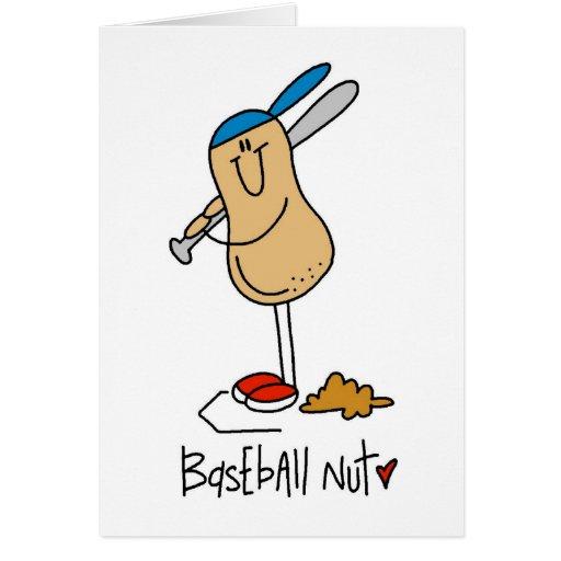 Regalo del béisbol felicitaciones