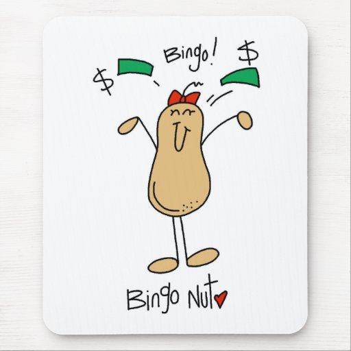 Regalo del bingo tapetes de raton