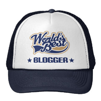 Regalo del Blogger (mundos mejores) Gorras De Camionero