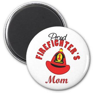 Regalo del bombero imán para frigorífico