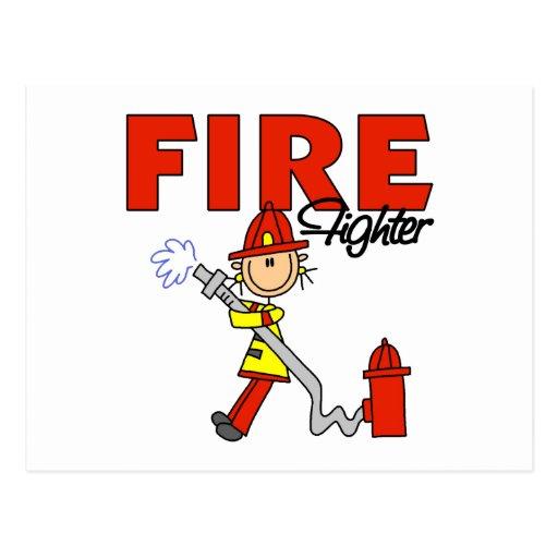 Regalo del bombero postales