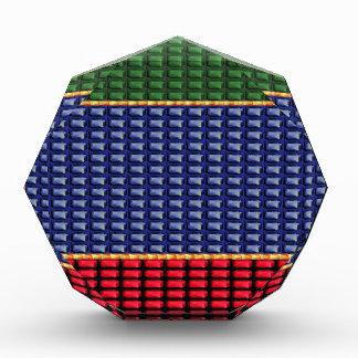 REGALO del botón del verde del rojo azul de