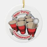 Regalo del campeón de Pong de la cerveza Ornato