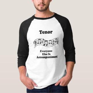 Regalo del cantante del tenor remera