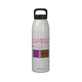 Regalo del chocolate del campista para la mujer botellas de agua reutilizables