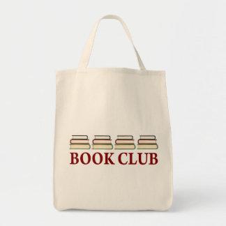Regalo del círculo de lectores para los lectores bolsa tela para la compra