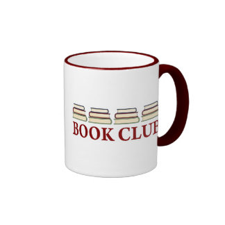 Regalo del círculo de lectores para los lectores taza a dos colores