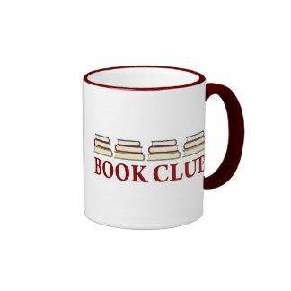 Regalo del círculo de lectores para los lectores taza de dos colores