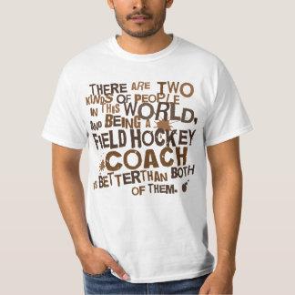 Regalo del coche de hockey hierba remeras