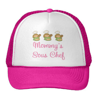 Regalo del cocinero de Mommys Sous Gorras