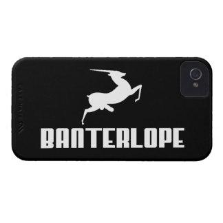 Regalo del comerciante de la burla de Banterlope iPhone 4 Carcasa