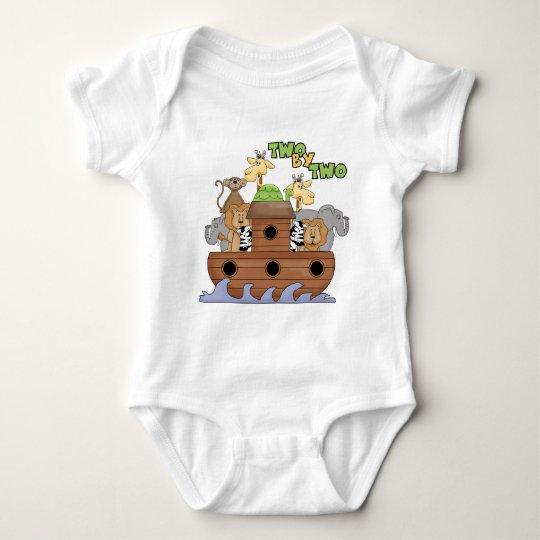 Regalo del cristiano de la arca de Noah Body Para Bebé