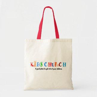 Regalo del cristiano de la iglesia de los niños bolsas de mano