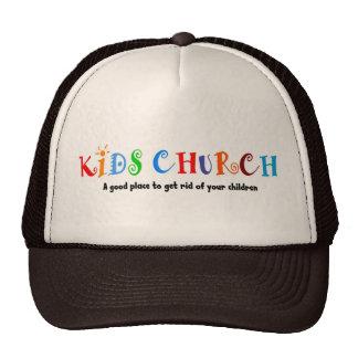 Regalo del cristiano de la iglesia de los niños gorros