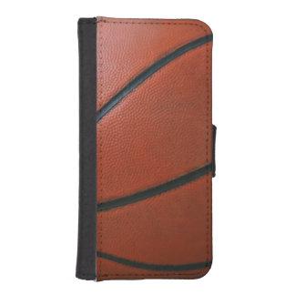 Regalo del deporte del baloncesto el | billeteras para teléfono