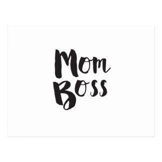 Regalo del día de madre de Boss de la mamá Tarjeta Postal
