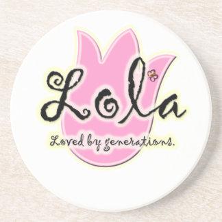 Regalo del día de madre de Lola del filipino Posavasos Cerveza