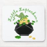 Regalo del día de St Patrick del Leprechaun Alfombrilla De Ratón