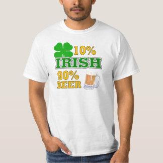 Regalo del día de St Patrick divertido Playera