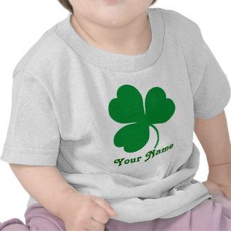 Regalo del día del trébol de St Patrick Camisetas