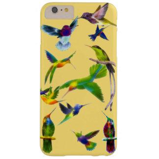 Regalo del diseñador de Birdlover de los colibríes Funda De iPhone 6 Plus Barely There