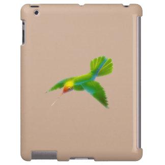 Regalo del diseñador de Birdlover de los colibríes Funda Para iPad