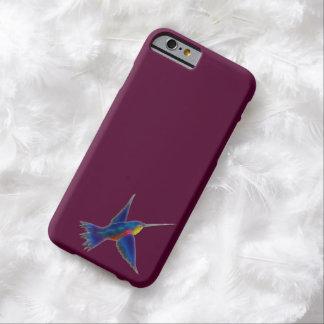 Regalo del diseñador de Birdlover de los colibríes Funda Para iPhone 6 Barely There