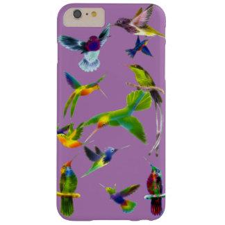 Regalo del diseñador de Birdlover de los colibríes Funda Para iPhone 6 Plus Barely There