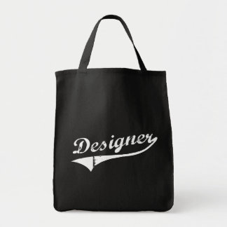 Regalo del diseñador del decorador de interiores bolsa tela para la compra