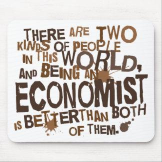 Regalo del economista tapete de raton