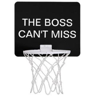 Regalo del ejecutivo del baloncesto de Boss Minicanasta
