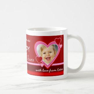 Regalo del el día de San Valentín - taza de la