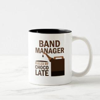 Regalo del encargado de la banda divertido taza