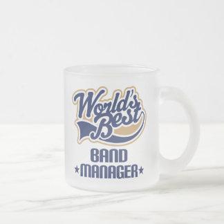 Regalo del encargado de la banda taza de café