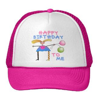 Regalo del feliz cumpleaños gorros