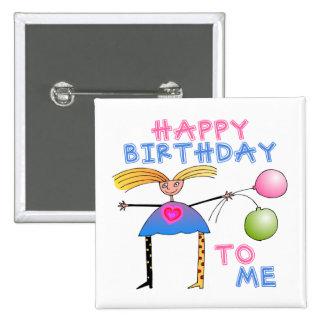 Regalo del feliz cumpleaños pin