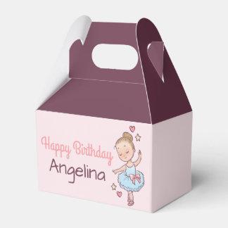 Regalo del fiesta del chica de la bailarina del caja para regalos