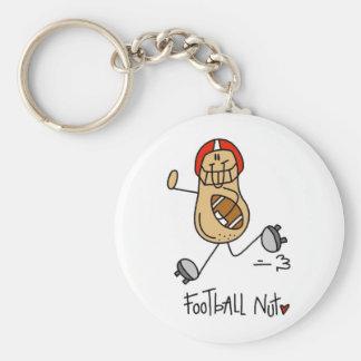 Regalo del fútbol llavero redondo tipo pin