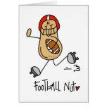 Regalo del fútbol tarjeta