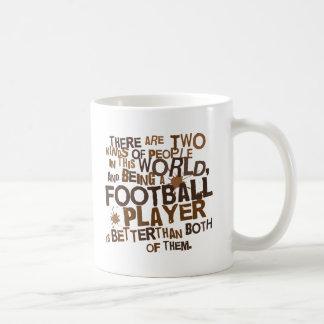 Regalo del futbolista tazas