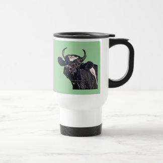 Regalo del ganado de Holstein Taza De Viaje