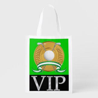 Regalo del golf del VIP, favor, bolso de Bolsa Para La Compra