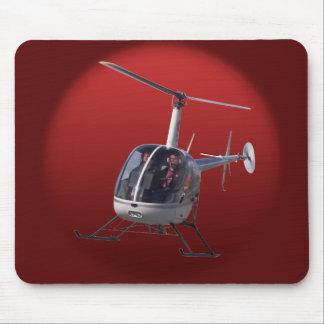 Regalo del helicóptero de Mouspad FlyingChopper de Alfombrilla De Ratón