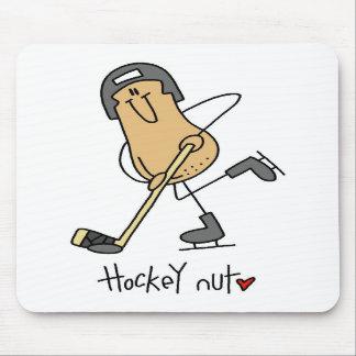 Regalo del hockey tapetes de raton
