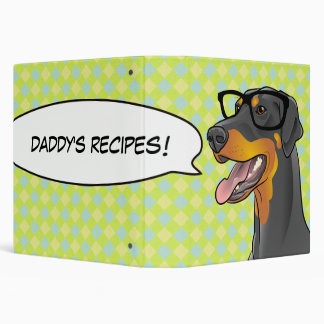 ¡Regalo del individuo de la carpeta de la receta